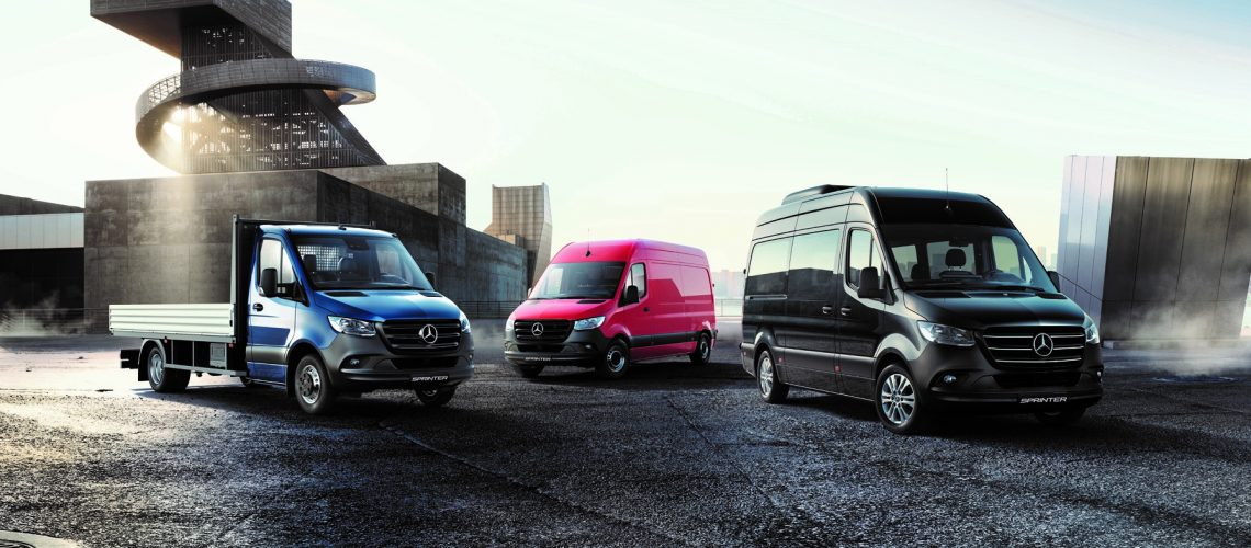 2018, The new Sprinter, Launch Campaign, Range Visual, Static Shot
