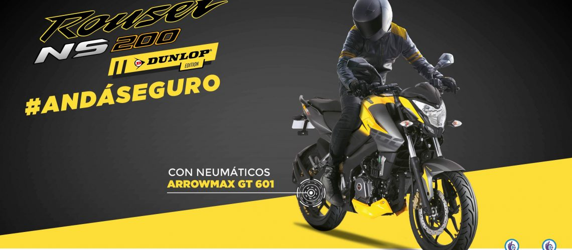 Bajaj Rouser NS200 Dunlop-07